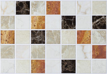 Square Tiles In Marble With Colorful Effects