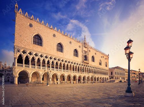 Aluminium Prints Venice Doge's palace (Palazzo Ducale). Venice. Italy.