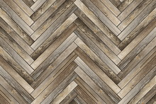 Pattern Of Old Wood Tiles