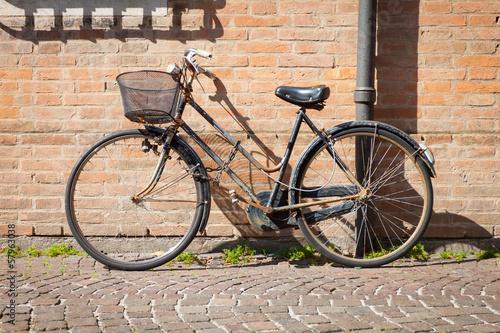 Foto auf AluDibond Fahrrad Italian old-style bicycles