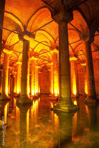 Photo  Basilica Cistern interior