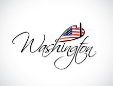 Washington Lettering