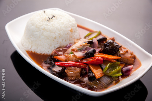 Steamed rice Canvas-taulu