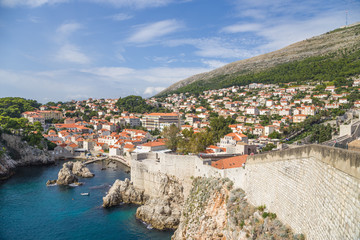 Old Dubrovnik and fortress