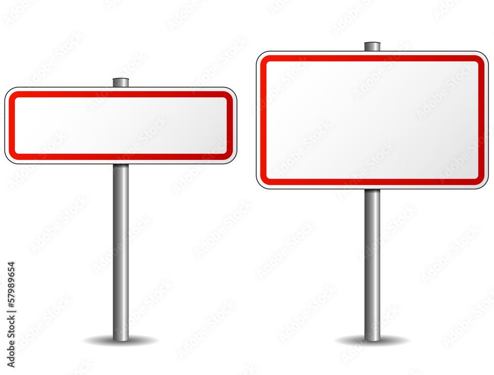Fototapeta Road sign