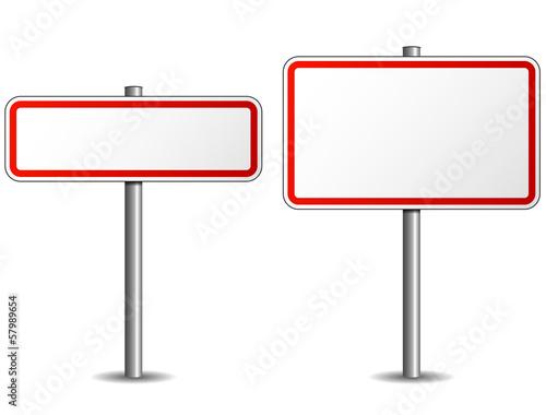 Fotografie, Obraz  Road sign