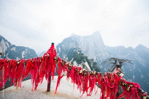 Fotoposter Xian Huashan mountain scene
