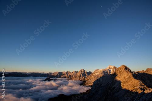 Autumn mountains Poster