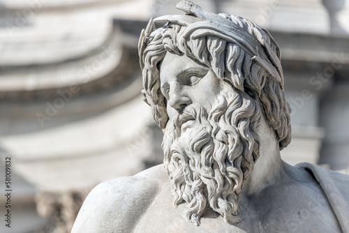 Photo Roma, Fontana dei Quattro Fiumi (part.)