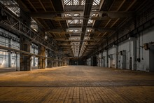 Large Industrial Hall Of A Rep...