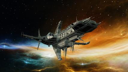 Fototapeta 宇宙船