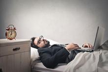 Lazy Businessman