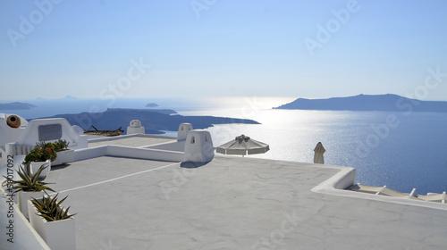 vistas al mar desde el tejado