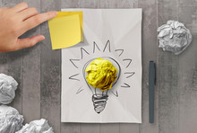 Sticky Note With Another Idea ...