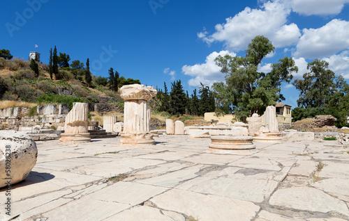 Staande foto Athene Greater Propylaia, ancient Eleusis, Attica, Greece