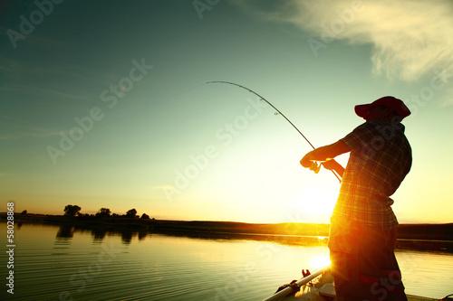 Poster Peche Fishing