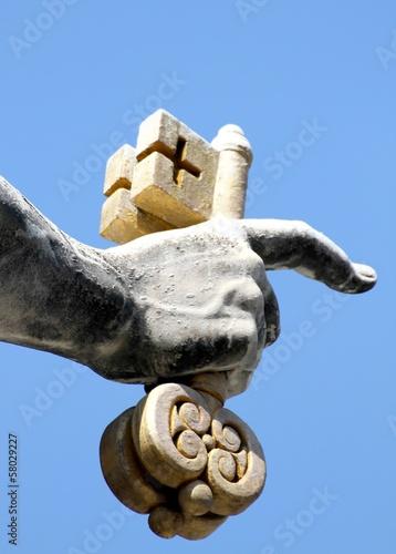 Obraz na płótnie hand of san pietro in Vatican City