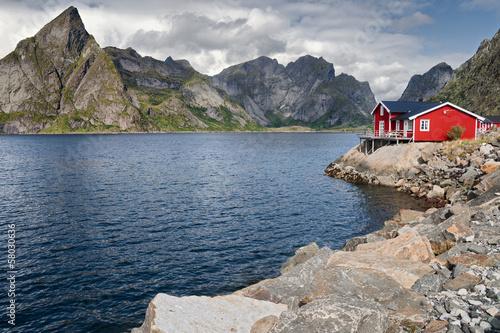 Foto op Aluminium Scandinavië Lofoten