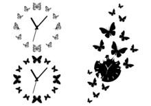 Time Flies, Butterfly Clocks F...