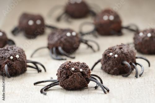 Fotografie, Obraz  Dolci per Halloween decorati