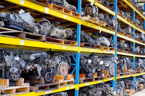 Photo Automobile Engine Blocks