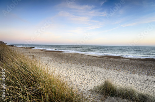 Sonniger Strand, sonniger Tag