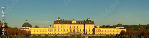 Drottningholms slott (royal palace) outside of Stockholm, Sweden Wallpaper Mural
