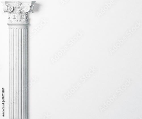 Fotografie, Obraz antique column