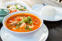 Thai Traditional Food (Tom Yum...