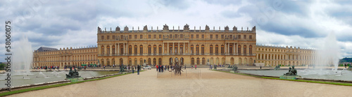Photo sur Aluminium Paris Palace de Versailles.