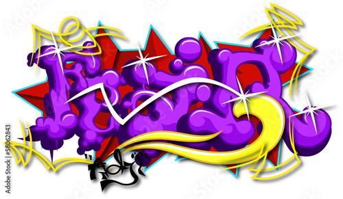 Fear Art Graffiti