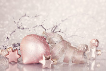 Christmas Pink Decoration