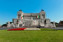 Altare Della Patria A Roma Di Giorno