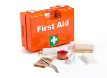 First Aid Kit With Dressing Ma...