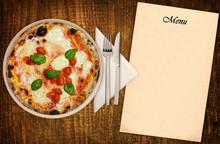 Pizza Margherita Con Menu
