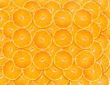 Pomarańcze. Tło