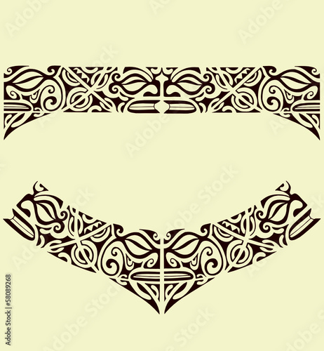 Maori Band Tattoo: Buy This Stock Vector And Explore