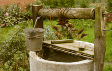 Old Rotten Water Well, Rural S...