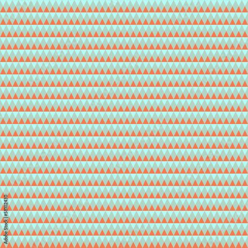 Deurstickers ZigZag Abstract Retro Geometric Background