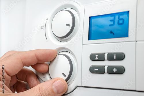 Fotografie, Obraz  Heating boiler