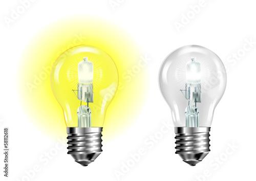 Photo ampoule jaune