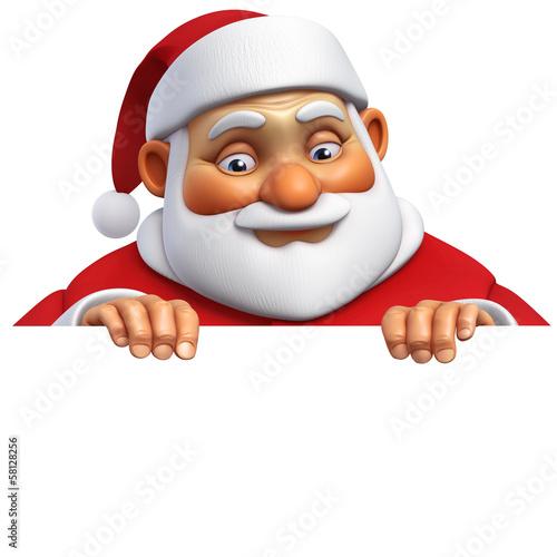 Sweet Monsters 3d cartoon santa