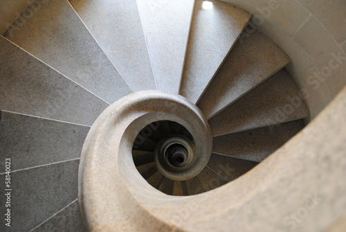 Stairs in Sagrada Familia
