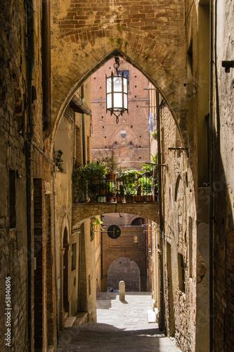 Fototapeta Siena - Tuscany - Italy