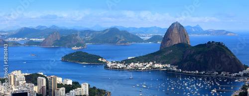 Fotobehang Rio de Janeiro Rio De Janeiro, Brazil landscape