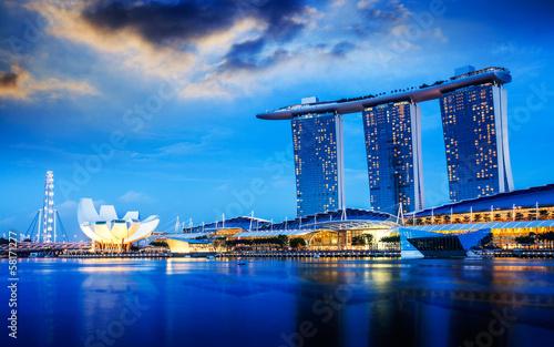 Tuinposter Singapore Singapore city