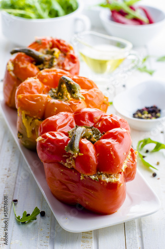 Fototapeta stuffed peppers obraz