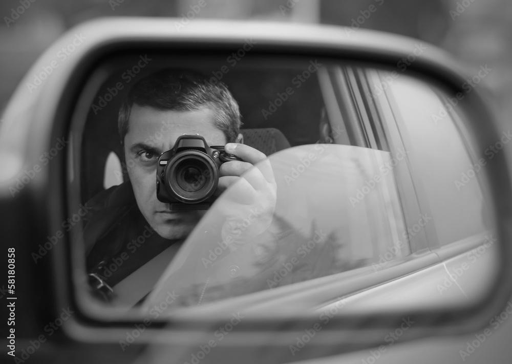 Fototapeta hidden photographing