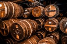 Cognac Barrels More Than 100 Y...