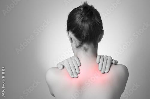 Fotografía  Woman with back pain